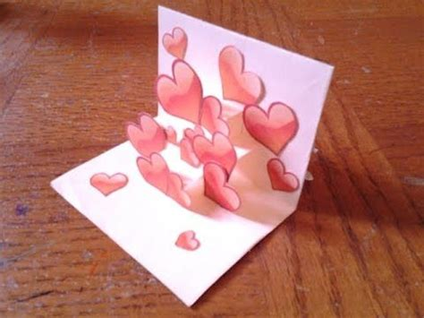 how to make a simple flower pop up card easy and simple pop up card tutorial for beginners 2