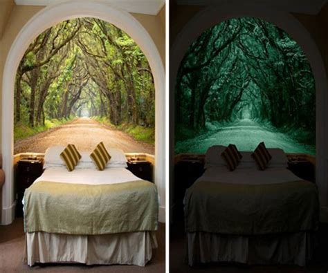 glow in the dark wall mural glow in the dark wall murals awesome stuff 365