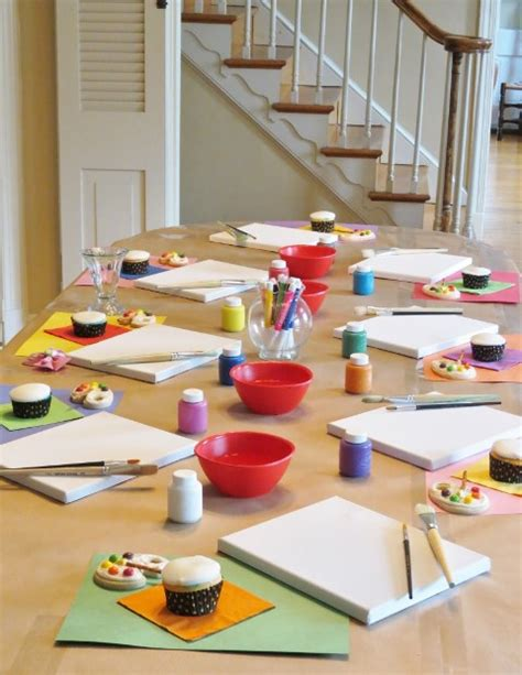 art themed events throw a lovely art party b lovely events