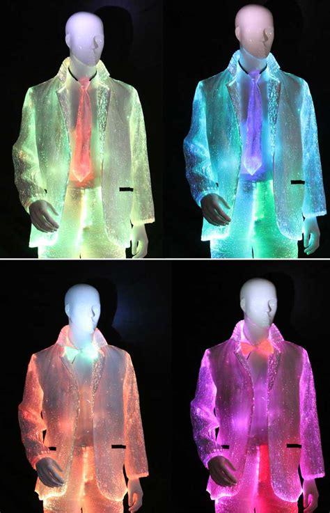 led light up clothing yq 57 69fiber optic light up led suit