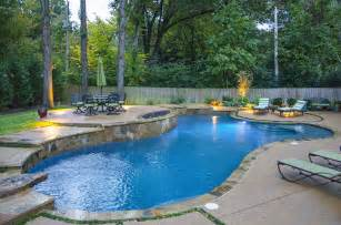 Small Backyard Renovations Swimming Pool Design Photo Gallery Arkansas Tennessee