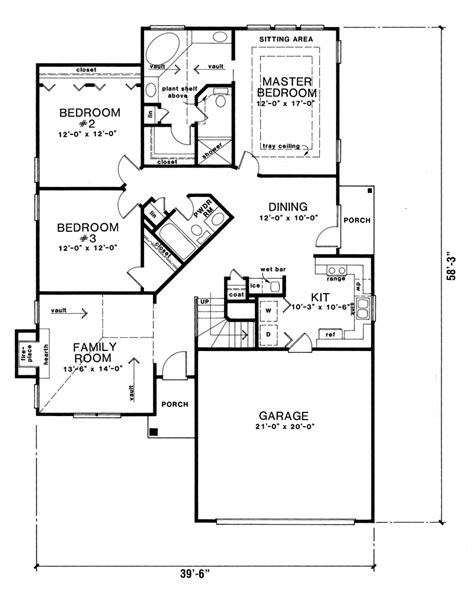 narrow lot ranch house plans torlina ranch narrow lot home plan 076d 0094 house plans