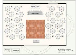 Smart Draw Floor Plans Banquet Planning Software Make Plans For Banquets