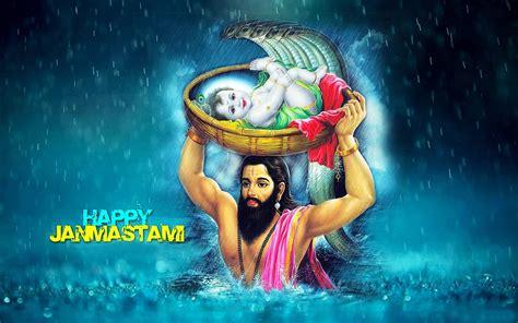 whatsapp wallpaper krishna happy janmashtami images gif wallpapers photos pics