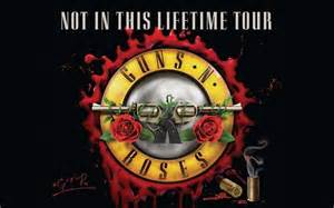 Guns n roses not in this lifetime tour 2017 in z 252 rich dravens