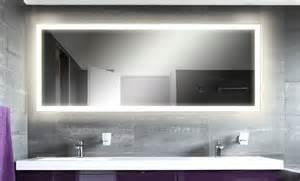 wandspiegel mit led beleuchtung methline gmbh led spiegel m303 l4 wandspiegel