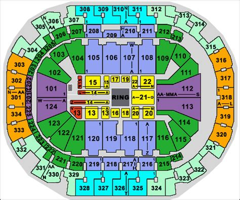 american airlines center seating chart rows american airlines seating images
