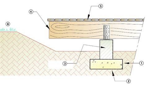 Plan Terrasse Bois Sur Plot Beton 2535 plan terrasse bois sur plot beton plan terrasse bois sur