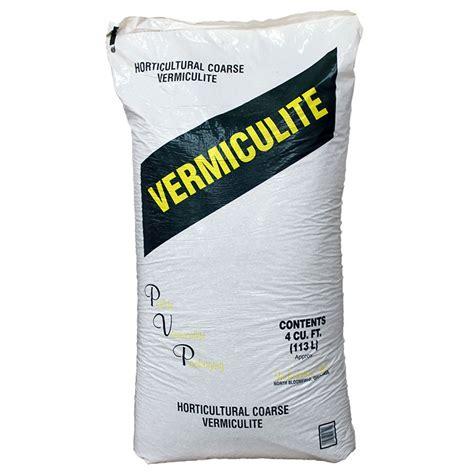 coarse vermiculite 4 cubic foot bag horticultural grade