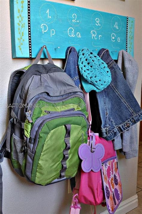 ideas for hanging backpacks 17 best ideas about backpack hooks on backpack