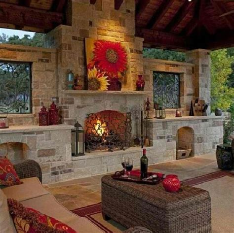 outdoor room with fireplace niiiiice outdoor fireplace room a new home