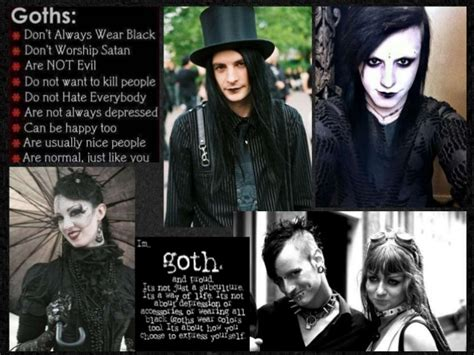 the goths subculture