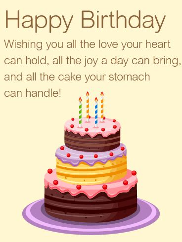 Wishing You all the Love   Happy Birthday Wishes Card   Birthday & Greeting Cards by Davia