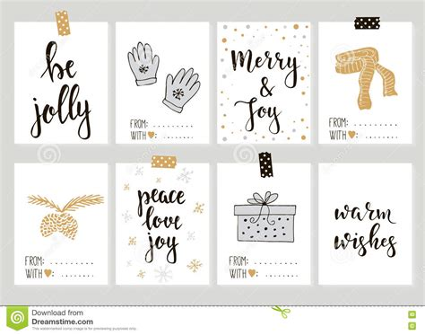 new year name tags merry and happy new year vintage gift tags cards