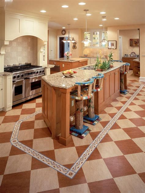cheap kitchen flooring cheap versus steep kitchen flooring hgtv