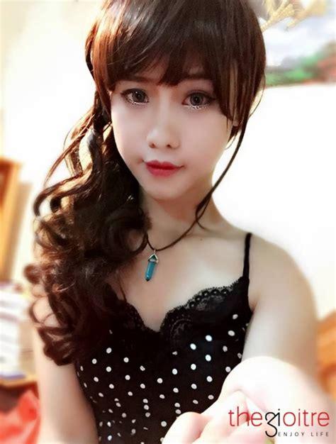 hình nh trai vi t khoe cu nhan sắc xinh như hot girl của ch 224 ng trai lai ch 226 u