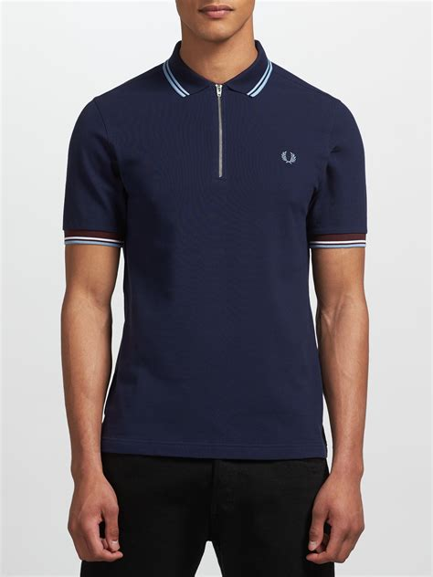 Polo Shirt Fred Perry fred perry zip polo shirt extremegn co uk