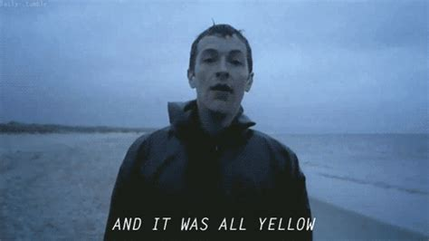 coldplay yellow video coldplay yellow on tumblr