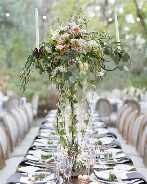 Wedding Table Flower Arrangements by Floral Wedding Centerpieces Martha Stewart Weddings