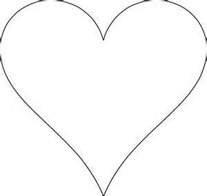 free heart templates printable paul s house clipart