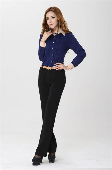 Gesper Sdlebar 35cm Panjang 90cm kemeja wanita kantoran lengan panjang model terbaru jual murah import kerja