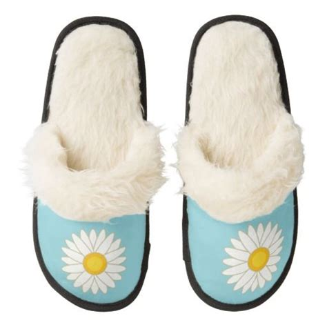 big fuzzy slippers big flower pair of fuzzy slippers slippers