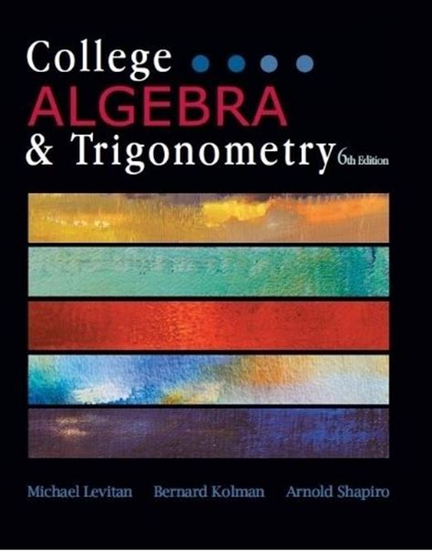 trigonometry books a la carte edition 2nd edition ebook college algebra textbooks slugbooks