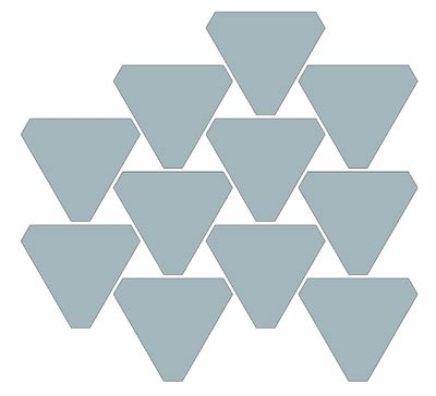 alternating pattern in math geometry possible tiling patterns for equiangular