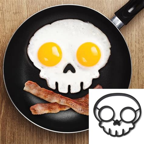 Egg Mold Skull by Silicone Skull Egg Frying Mold Breakfast Pancake Mould