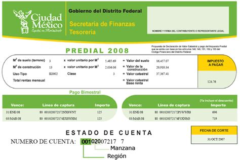 formato predial ocoyoacac 2016 pago del predial distrito federal 2016 new style for