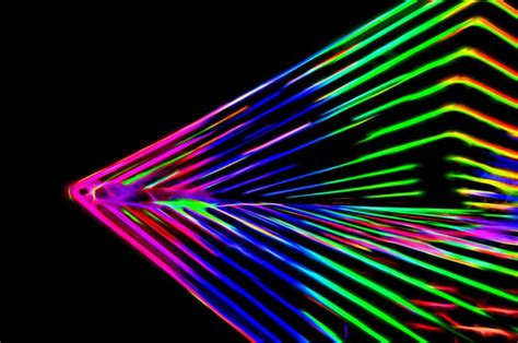 picture abstract futuristic laser digital