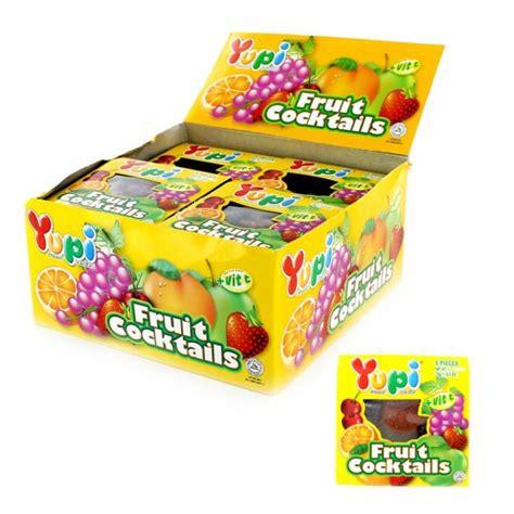 Yupi Box Yupi Jelly Fruit Cocktails 6 Pieces 24x15 G