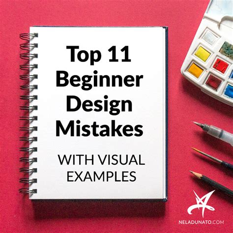 design mistakes top 11 easy to fix beginner design mistakes with visual