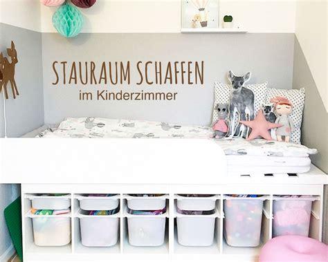 stauraum schaffen stauraum schaffen in kinderzimmern unsere tipps