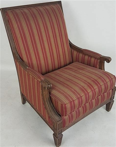 red striped armchair red striped armchair