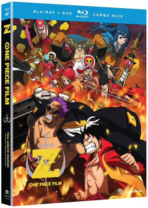 film one piece movie one piece film z movie anime dvd blu ray r1 funimation