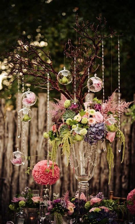 Enchanted Forest Table Decorations by Glass Globe Wedding Decoration Or Favor Wedding