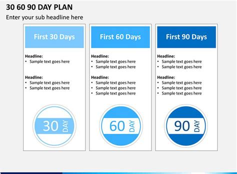30 60 90 day plan template word 30 60 90 day plan template free premium
