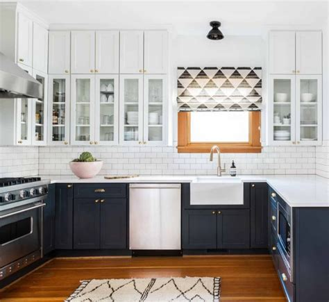 two color kitchen cabinets ideas 15 awasome two tone kitchen cabinets to your space shine