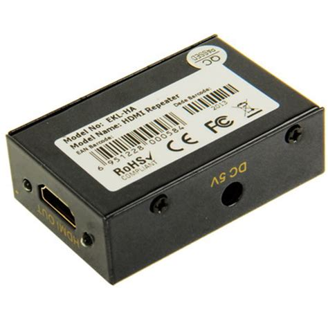 Hdmi Lifier Repeater hdmi lifier repeater black jakartanotebook