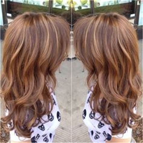 warm color hair highlight palette warm brown with highlights pretty pinterest warm