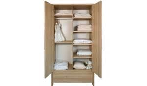 armoire bb et enfant en bois chne naturel 2 portes et