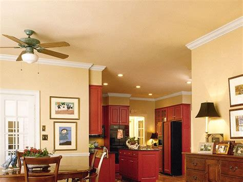 colored walls kitchen cabinetry really stands out against