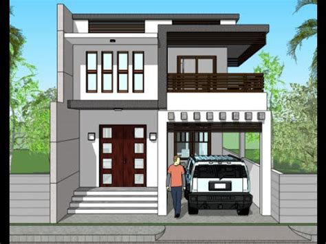 small house elevation designs in india modern house plans india small houses 3d elevations and rendered plans youtube