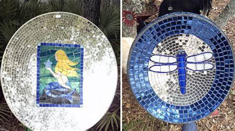amazing art  satellite dish design swan