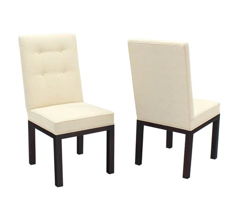 Upholstered Dining Chairs For Sale Set Of Eight Newly Upholstered Dining Chairs By Widdicomb For Sale At 1stdibs