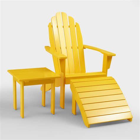Adirondack Chairs World Market by Lemon Adirondack Collection World Market