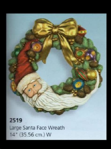 ceramic bisque santa ceramic bisque santa wreath u paint ceramics