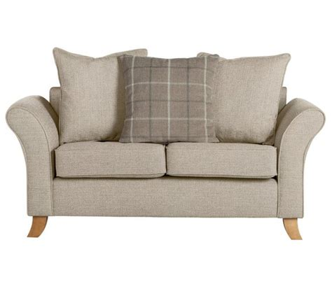 buy fabric sofa buy collection 2 seater fabric sofa beige at argos