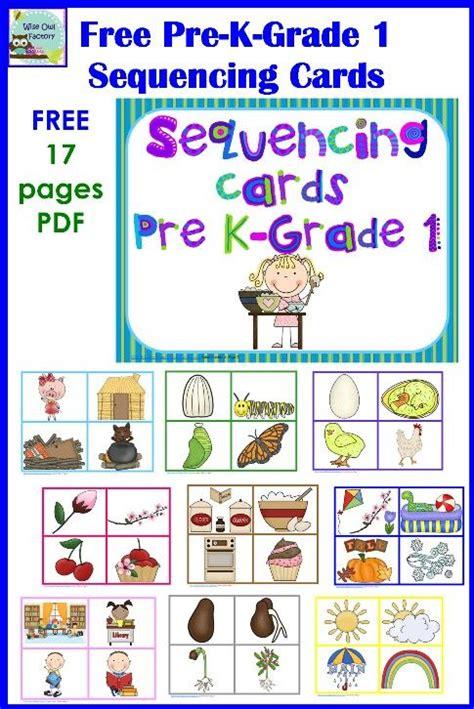 cards preschool sequencing speech stuff speech therapy